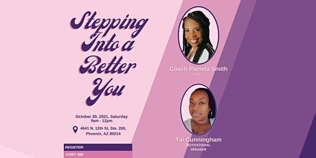 Stepping Into a Better You tickets