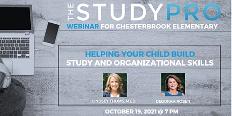 Helping Your Child Build Study and Organizational Skills tickets