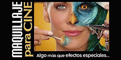 Maquillaje para cine tickets