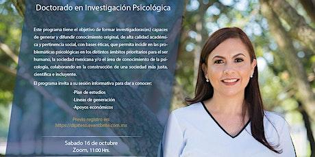 Sesión Informativa l Doctorado en Investigación Psicológica tickets