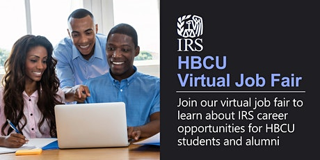 IRS information session for HBCUs & Alumni-IT & Business Admin. careers tickets