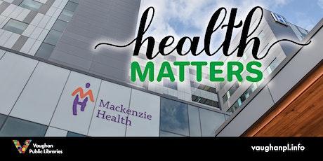 Health Matters tickets