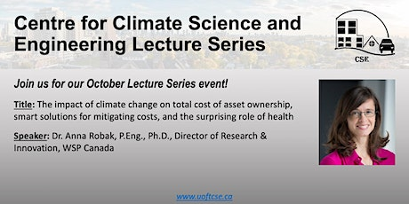 UofT Centre for Climate Science and Engineering Lecture Series tickets