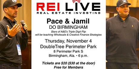 Pace & Jamil do BIRMINGHAM tickets