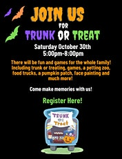 Trunk or Treat at Hope Lutheran Church tickets