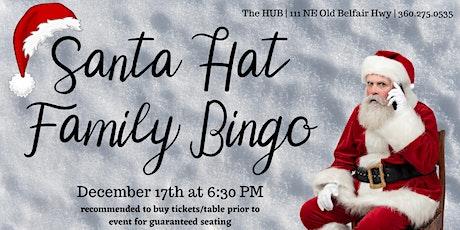 Santa Hat Family Bingo tickets