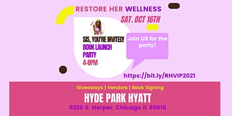 RESTORE Her Wellness  Book LAUNCH Party tickets