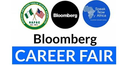 Bloomberg Career Fair led by Speak Now Africa tickets