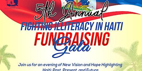 "Fifth Annual ""Fighting Illiteracy in Haiti"" Fundraising Gala tickets"