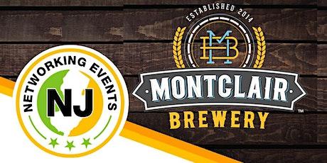 VENDOR TICKETS - NJ Networking Event Oktoberfest at Montclair Brewery tickets