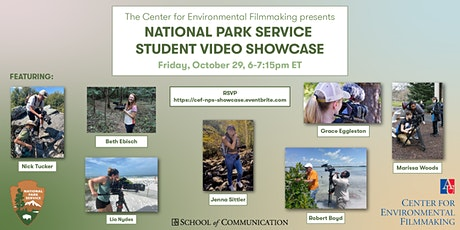 CEF Presents: The National Park Service Student Video Showcase tickets