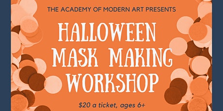 Halloween Mask Making for Kids tickets