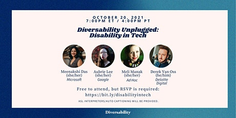 Diversability Unplugged: Disability in Tech tickets
