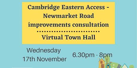 Abbey Cambridge Eastern Access Virtual Town Hall tickets
