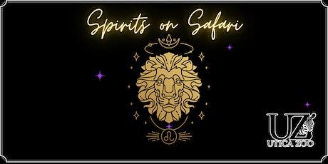 Spirits on Safari tickets