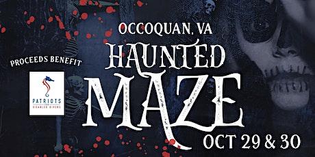 Haunted Maze tickets