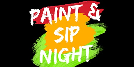 Paint & Sip Night : Black History Month Edition tickets