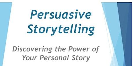 Persuasive Storytelling Workshop tickets