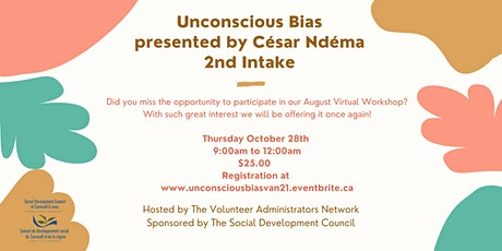 Unconscious Bias - 2nd Intake tickets