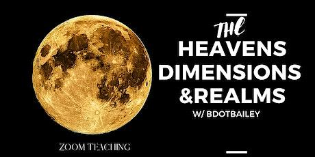 BDotBailey Workshops: The Heavens, Dimensions & Realms tickets