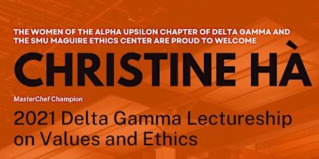 MasterChef Winner Christine Ha:Delta Gamma Lectureship in Values and Ethics tickets