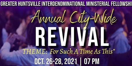 GHIMF Annual City-Wide Revival tickets