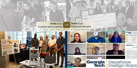 Fall 2021 Georgia Tech Capstone Design Expo (In-person AND Online) tickets