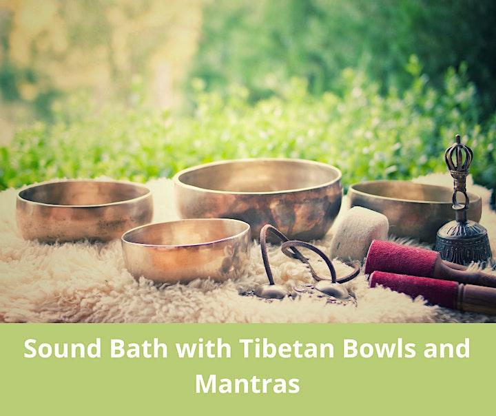 Sound bath with Tibetan Mantras image