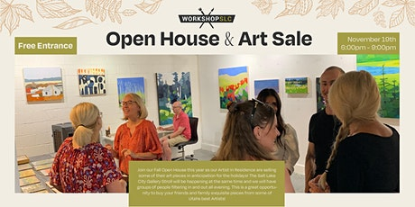 Holiday Open House & Art Sale! tickets