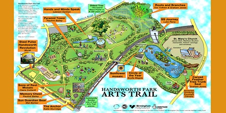 Home Education FREE AUTUMN WALKING TOURS OF HANDSWORTH PARK ARTS TRAIL tickets