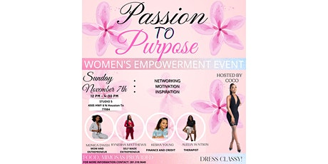 Empowered and brunch: Passion to Purpose tickets