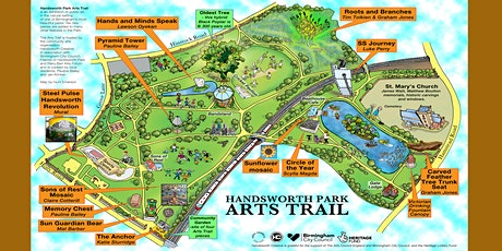 FREE AUTUMN WALKING TOURS OF HANDSWORTH PARK ARTS TRAIL tickets