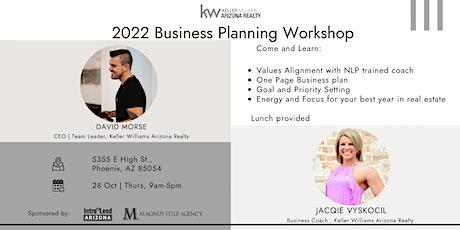 2022 Business Planning Workshop tickets