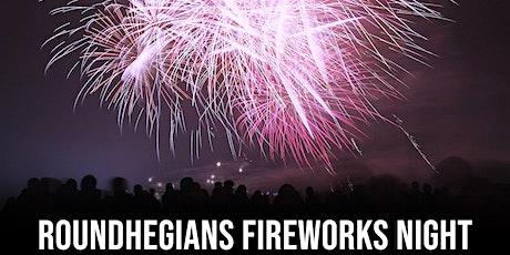 Roundhegians Fireworks Night tickets