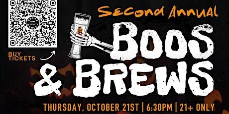 Boos & Brews a Pumpkin Beer Dinner tickets