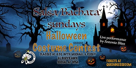 Salsa/Bachata Sunday HALLOWEEN Party! tickets