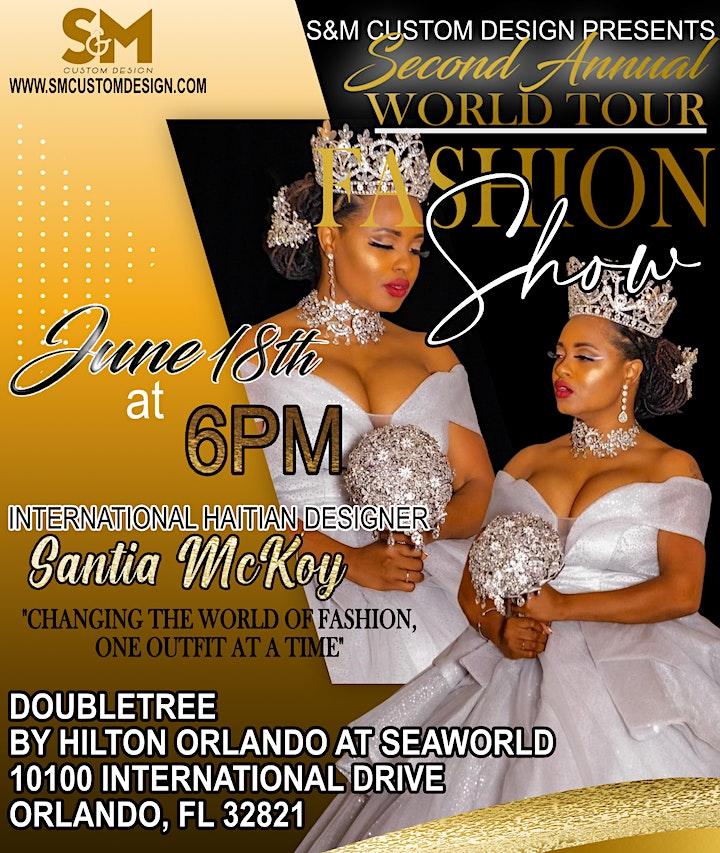 S&M Presents: 2022 WORLD TOUR FASHION SHOW image