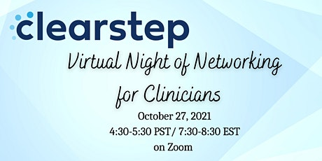 ClearStep Fall Networking Event tickets