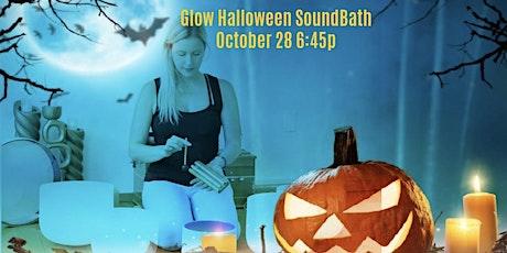 Luminescent Halloween SoundBath at Glow Yoga tickets