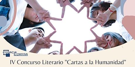 """Fallo del IV Concurso Literario """"Cartas a la Humanidad"""" entradas"""