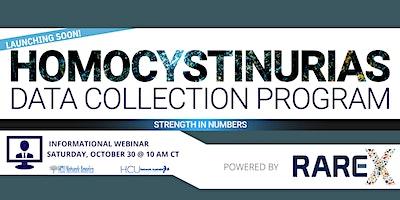 Homocystinurias Data Collection Program Informational Webinar