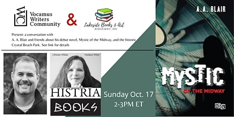 Mystic of the Midway Virtual Book Launch tickets