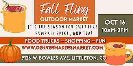 Fall Fling Outdoor Market tickets