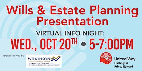 Wills & Estate Planning Presentation tickets