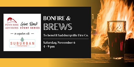 Bonfire & Brews to benefit Sadsburyville Fire Co. tickets