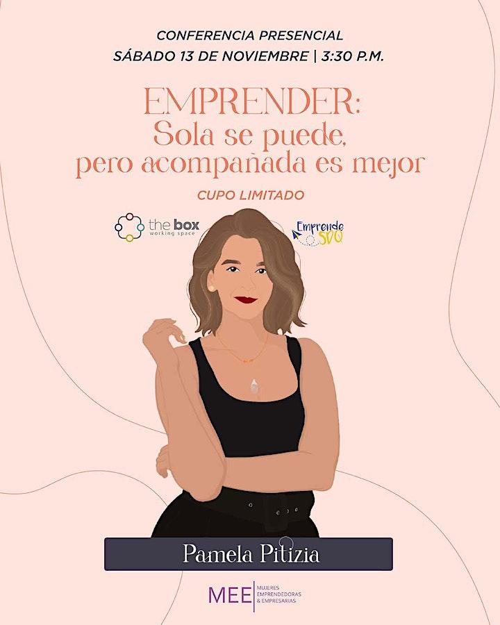 Imagen de Conferencia de Pamela Pitizia en Emprende SDQ