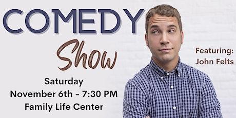 **Live Stream** Comedy Show - John Felts at Pittsboro UMC tickets