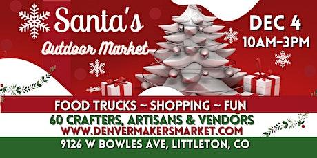 Santa's Outdoor Market tickets