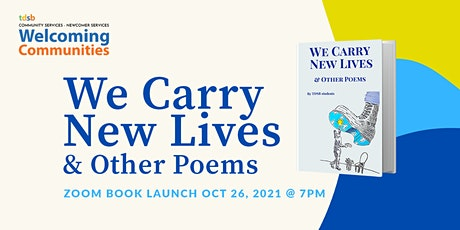 We Carry New Lives Virtual Book Launch tickets