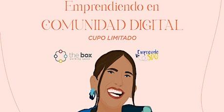 Conferencia de Paloma De La Cruz en Emprende SDQ boletos